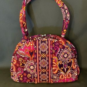 Vera Bradley Safari Sunset Eloise handbag